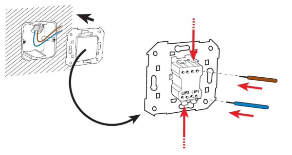 como conectar un interruptor