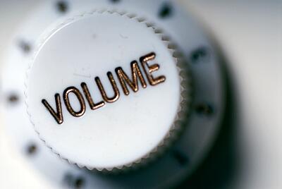 volumen reproductores de sonido