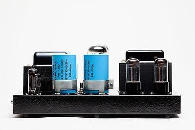 transformador en amplificador de sonido