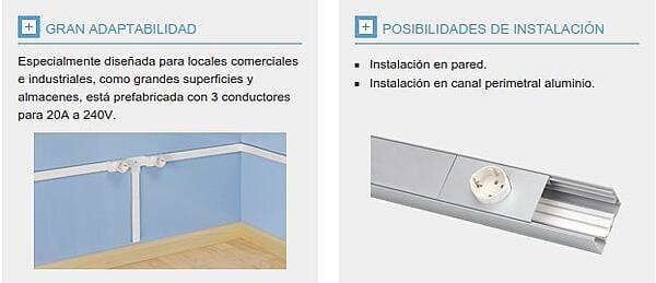 instalaciones en superficie en oficinas