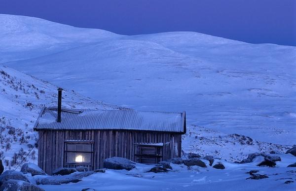 Instalación eléctrica en nieve