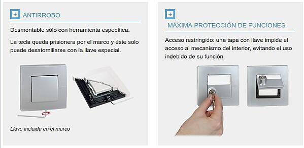 Protecciones eléctricas ante robos