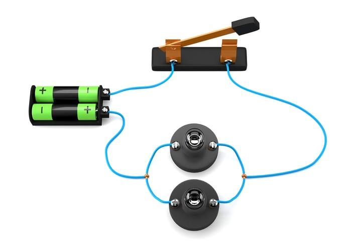 Circuito Electrico Simple Con Interruptor : El circuito eléctrico: componentes y tipos
