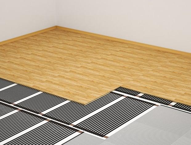 suelo radiante eléctrico