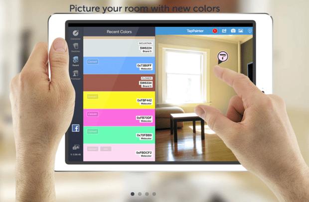 simulador de pinturas, color pared habitacion