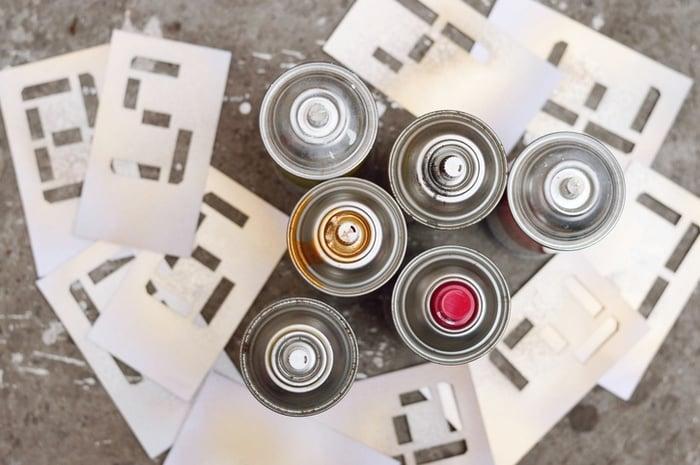 Te contamos c mo hacer plantillas para pintar paredes - Como hacer plantillas para pintar paredes ...