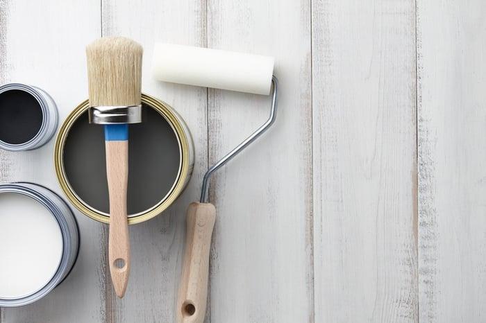 pintar muebles con pintura de tiza