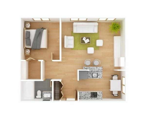 aprovechar espacios pequeños