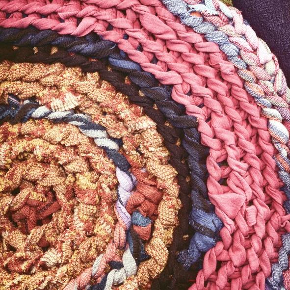 como hacer una alfombra