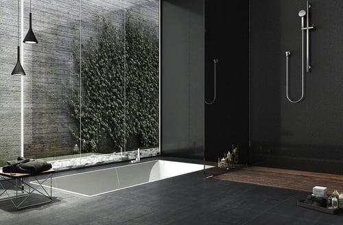 baños con ducha y bañera