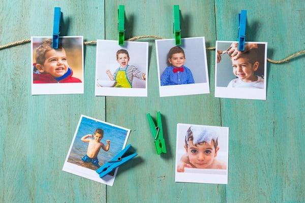 Ideas para colgar fotos