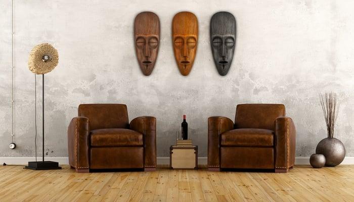 decoracion africana