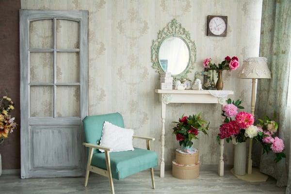 habitaciones vintage