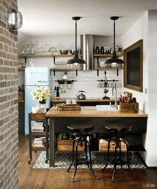 cocinas vintage, cocinas antiguas, cocinas retro