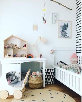 habitación niña, habitaciones para niñas, dormitorio niña, decoracion de habitación de niña
