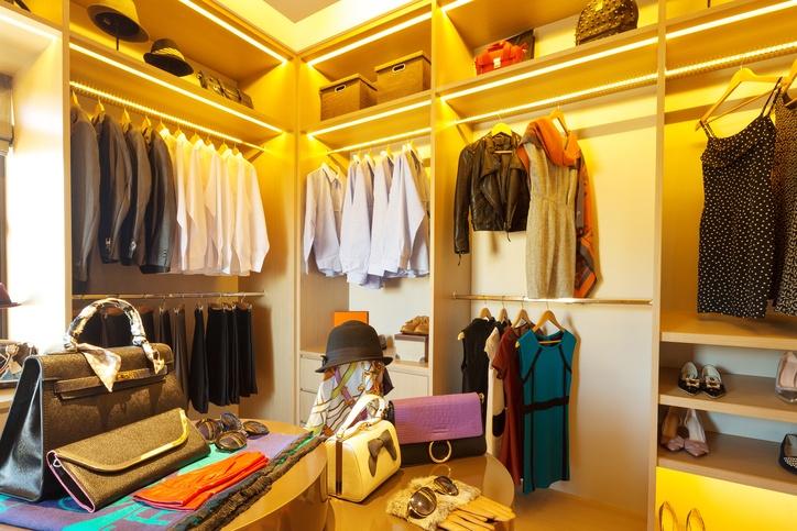 vestidores modernos