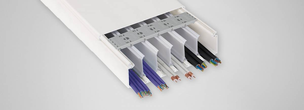 canaletas para cables decorativas