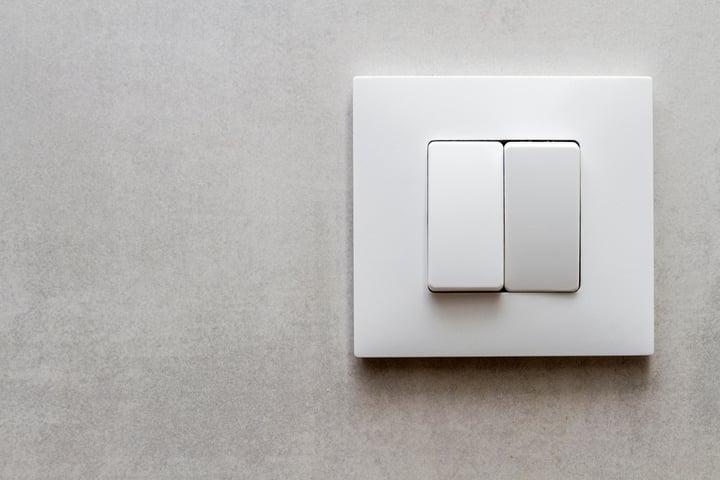 como conectar un interruptor doble